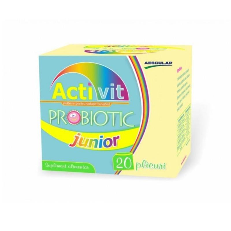Probiotic Activit junior, 20 plicuri, Aesculap