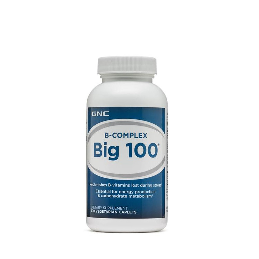 B-Complex Big 100 (153967), 100 tablete, GNC