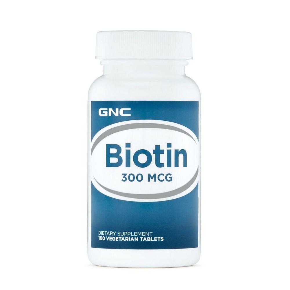 Biotina 300 mcg (255811), 100 tablete, GNC