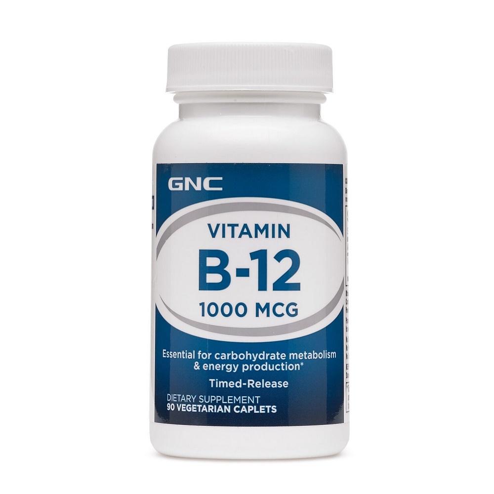 Vitamina B-12 1000 mcg (016924), 90 tablete, GNC