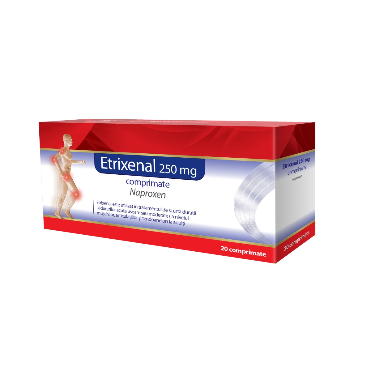 Etrixenal 250 mg Proenzi, 20 comprimate, Walmark