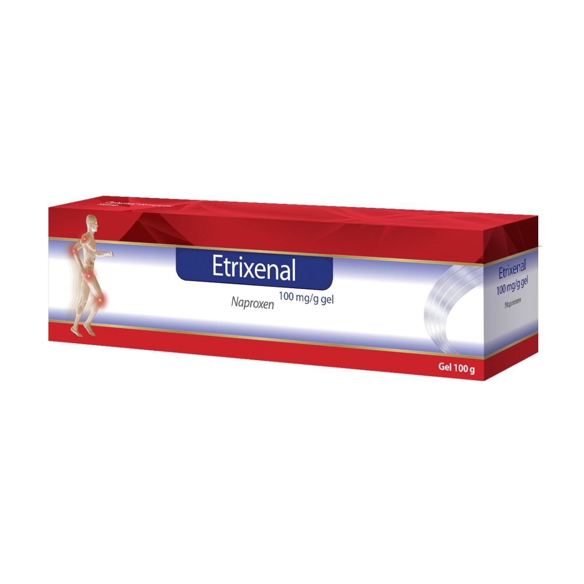 Etrixenal 100 mg/g gel Proenzi, 100 g, Walmark