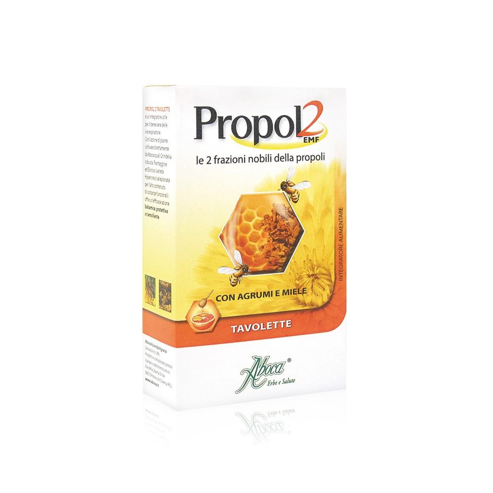Propol2 cu miere pentru adulți, 30 tablete, Aboca