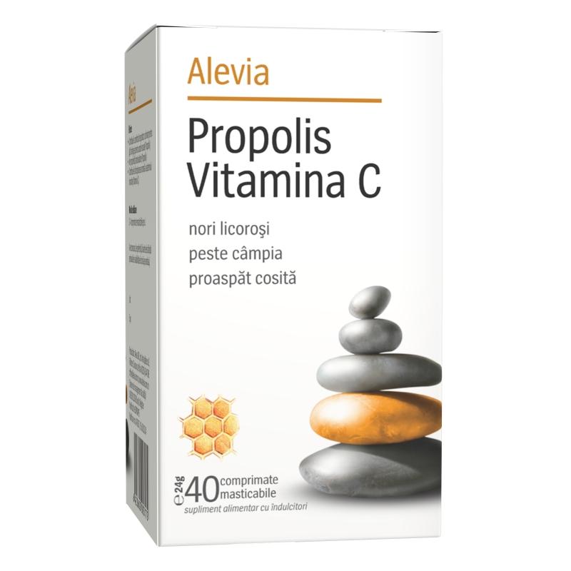 echinaceea forte cu propolis si vitamina c)