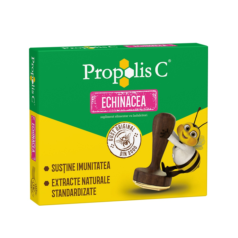 Propolis C Echinacea, 20 comprimate, Fiterman Pharma