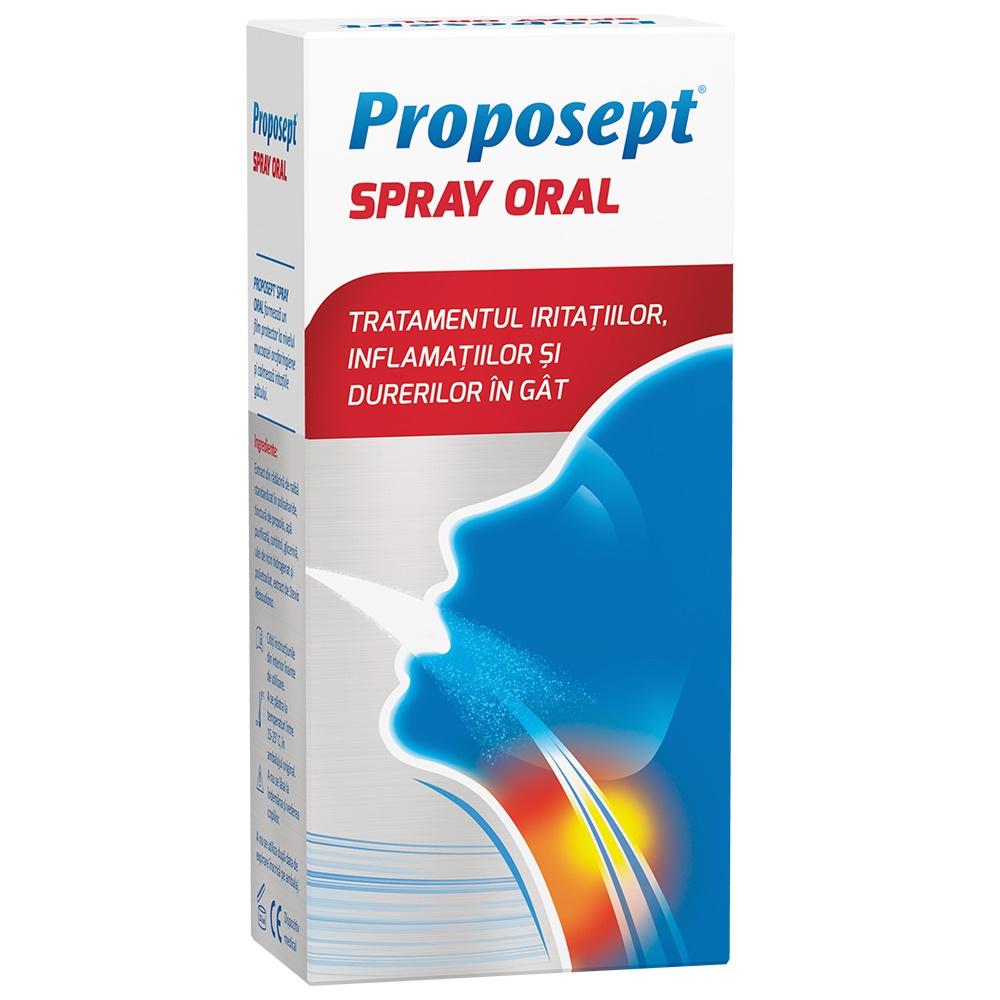Spray oral - Proposept, 20 ml, Fiterman Pharma