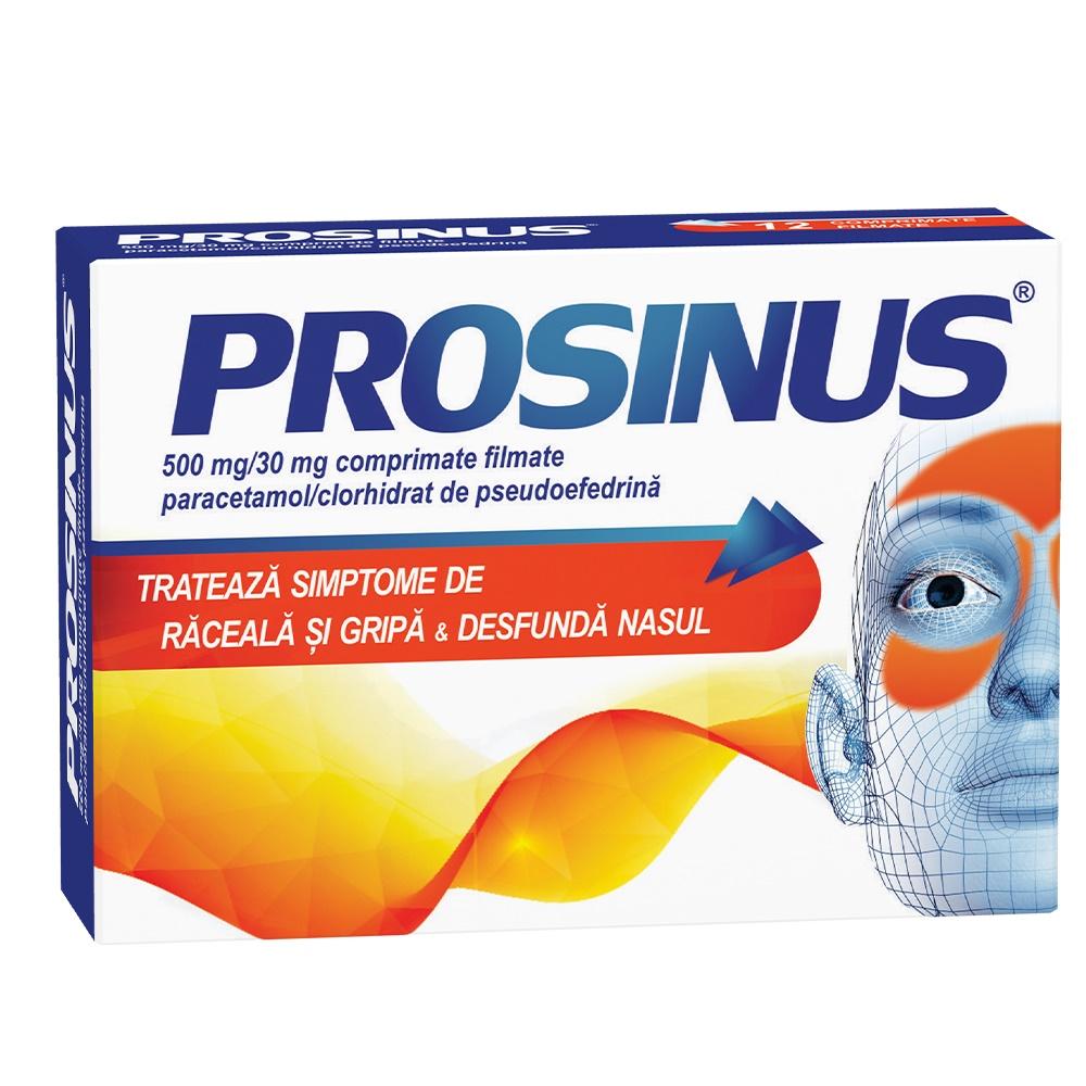 Prosinus 500mg/30mg, 20 comprimate filmate, Fiterman