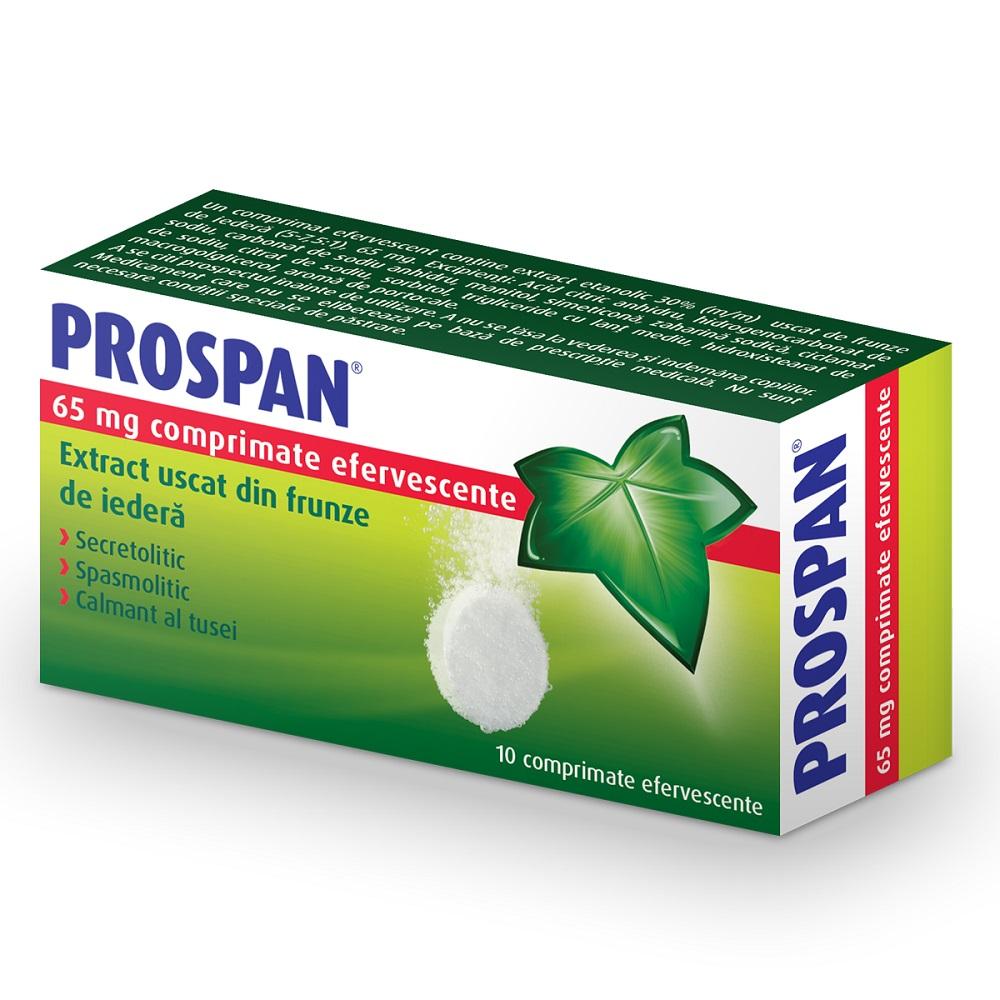 Prospan efervescent, 10 comprimate, Engelhard Arzneimittel