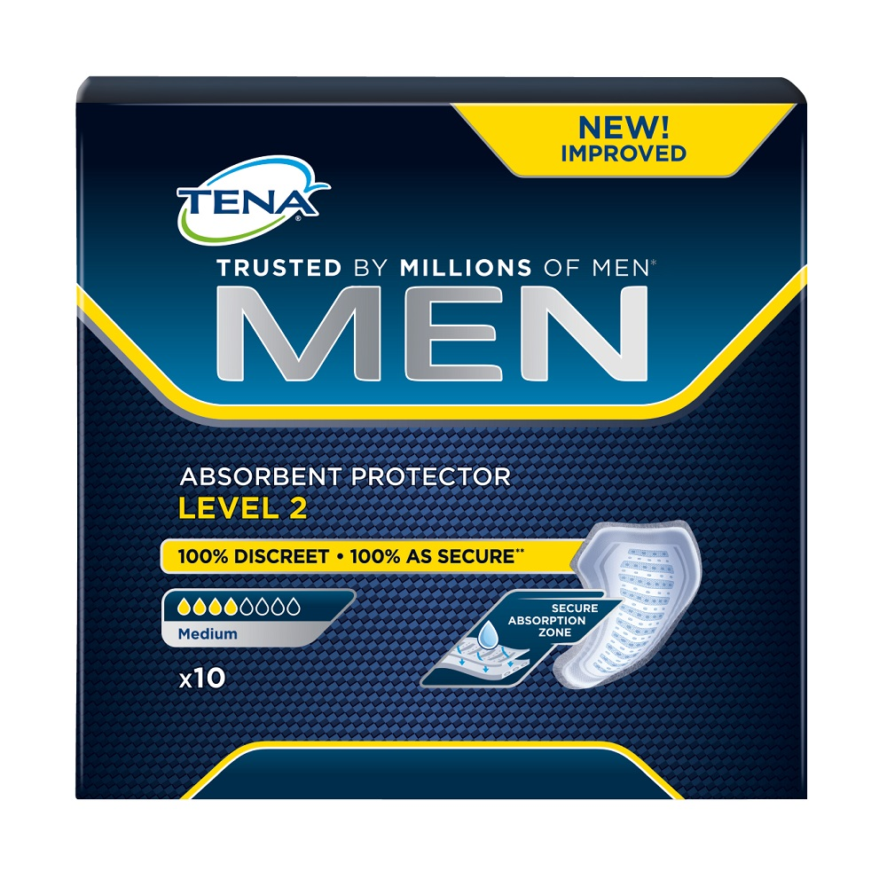 Protectie absorbanta Men Level 2 (750796), 10 bucati, Tena