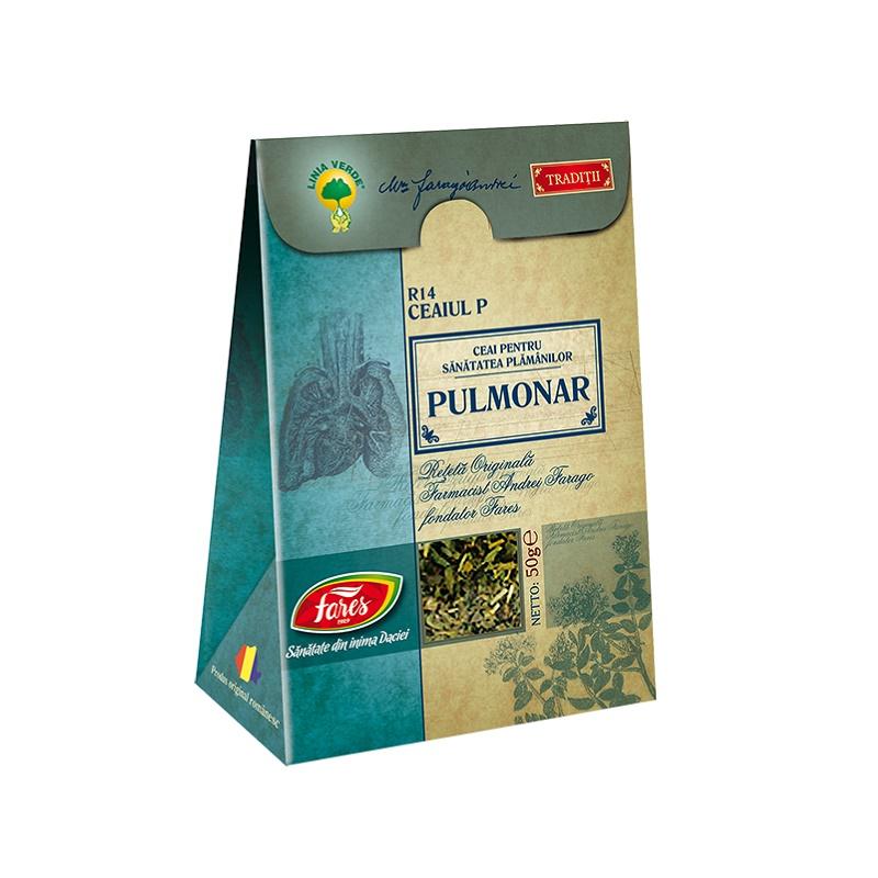 Ceai Pulmonar, R14, 50 g, Fares