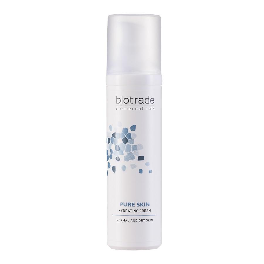 Cremă hidratantă și revitalizantă pentru fața Pure skin, 50 ml, Biotrade