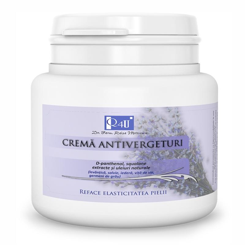 Crema antivergeturi Q4U, 500 ml, Tis Farmaceutic
