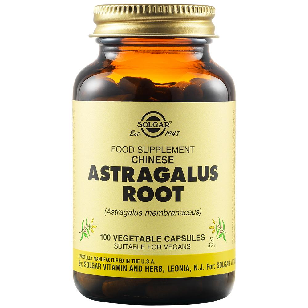 Rădăcină de Astragalus, 100 capsule, Solgar