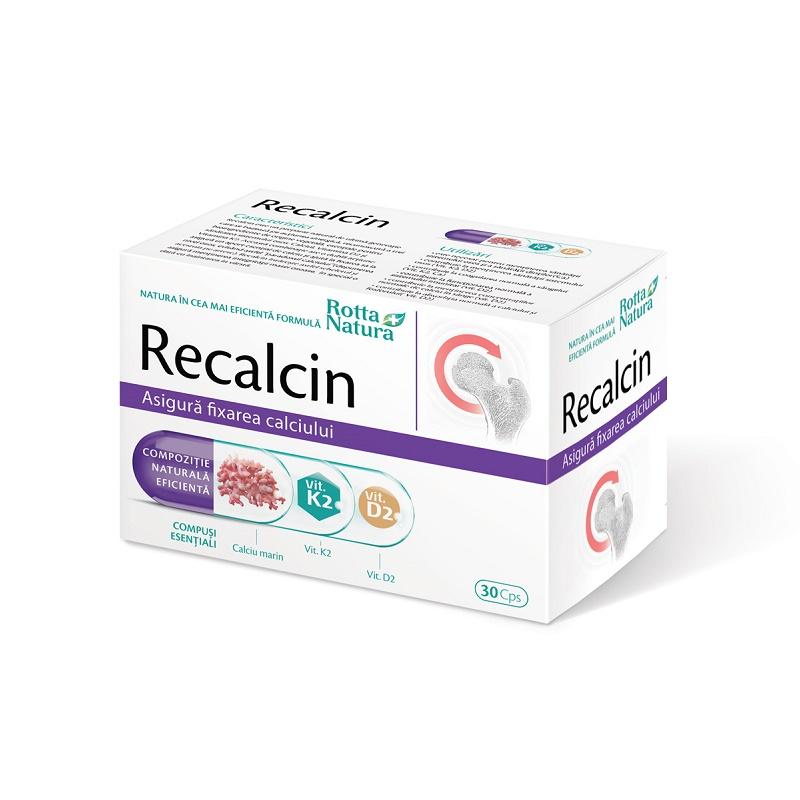 Recalcin, 30 capsule, Rotta Natura