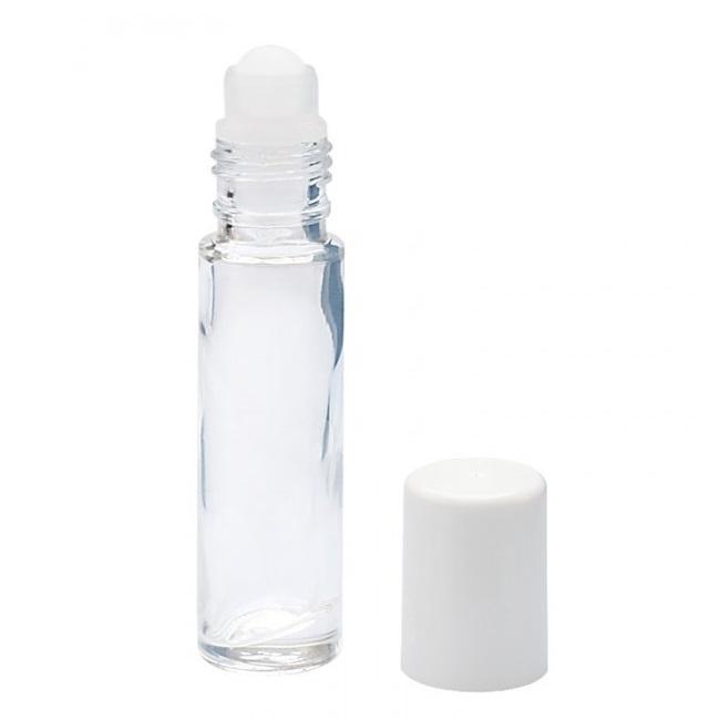 Recipient mini roll-on sticlă, 10 ml, Mayam