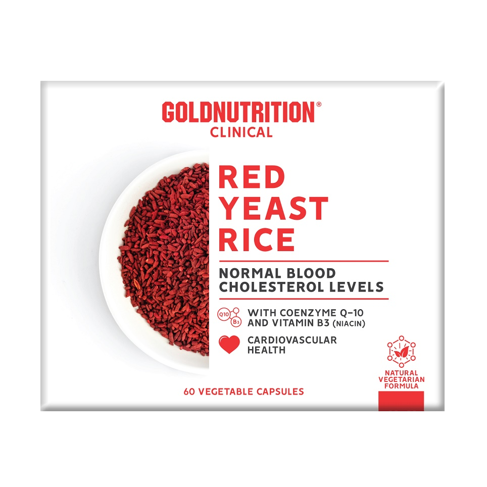 Red Yeast Rice, 60 capsule, Gold Nutrition