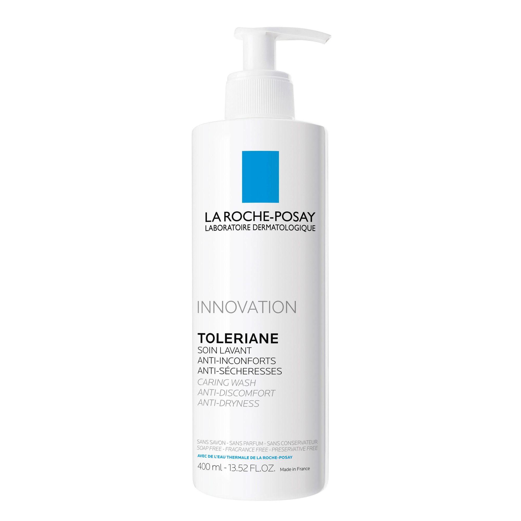 Cremă de spălare pentru față Toleriane, 400 ml, La Roche-Posay