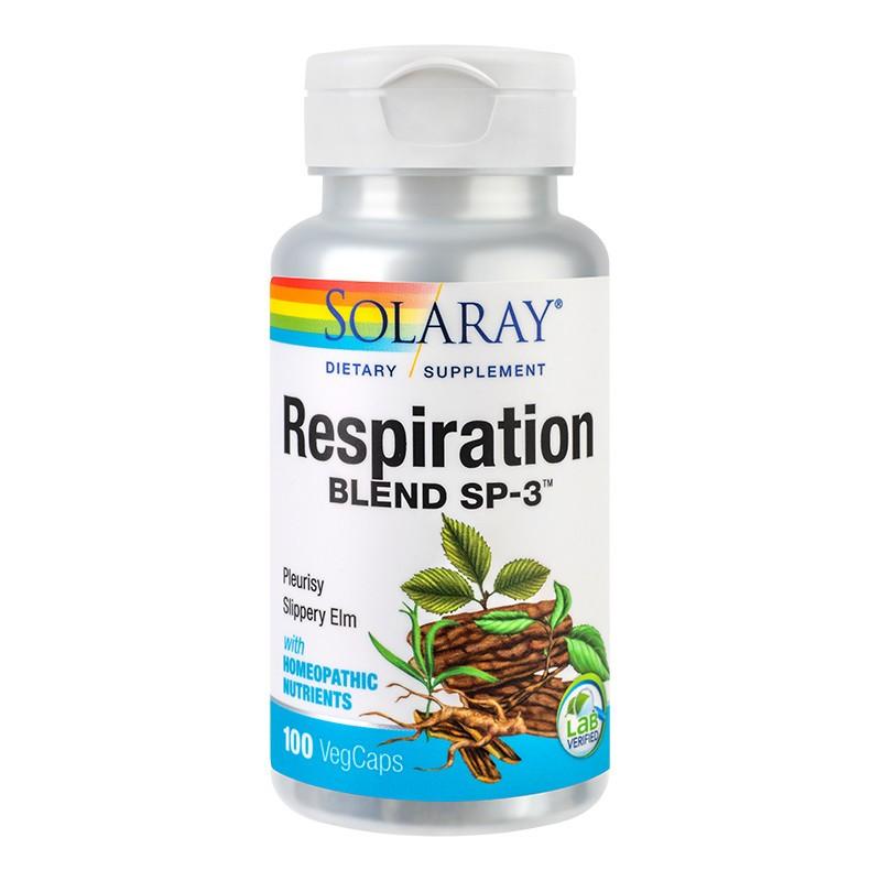 Respiration Blend Solaray, 100 capsule, Secom