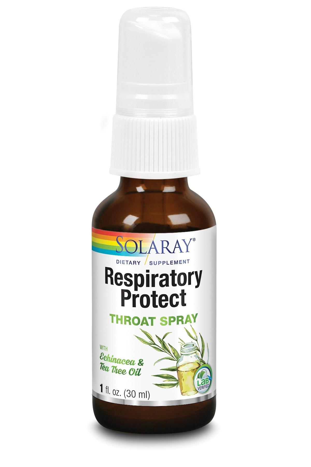 Respiratory Protect Throat Spray Solaray, 30 ml, Secom
