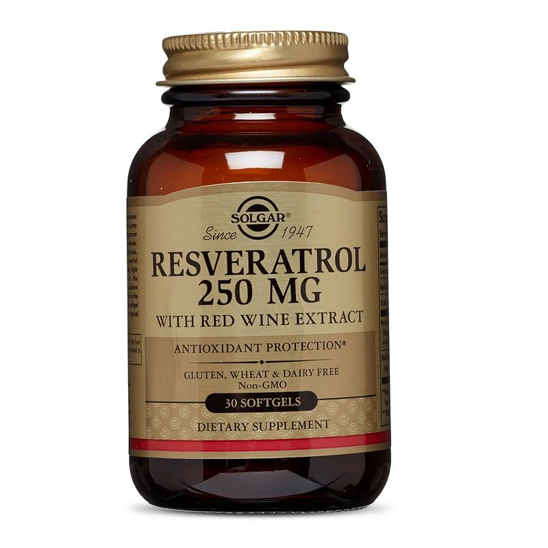 Resveratrol 250 mg, 30 capsule, Solgar