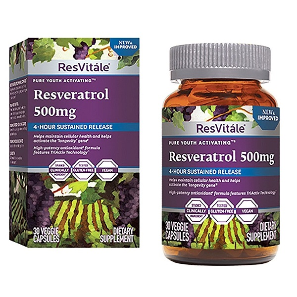 Resveratrol 500 mg (446703), 30 capsule, ResVitale