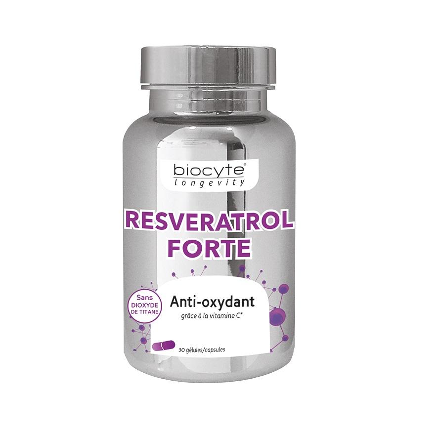 Resveratrol Forte, 30 capsule, Biocyte
