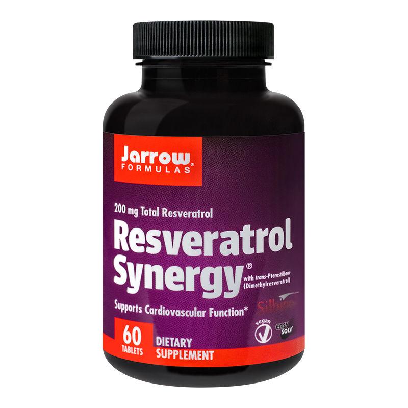 Resveratrol Synergy 200mg Jarrow Formulas, 60 tablete, Secom