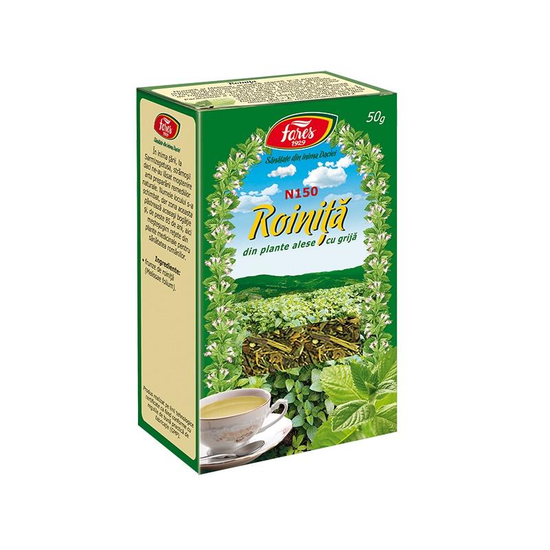 Ceai Roiniță iarbă, N150, 50 g, Fares