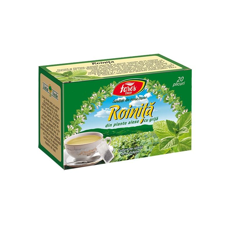Ceai de Roiniță, 20 plicuri, Fares