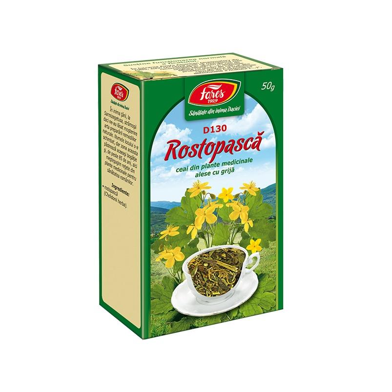 Ceai Rostopască iarba, D130, 50 g, Fares