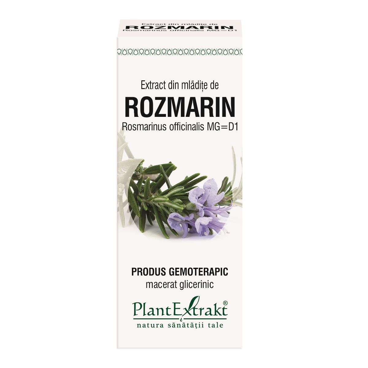 Extract din mlădițe de Rozmarin, 50 ml, Plant Extrakt