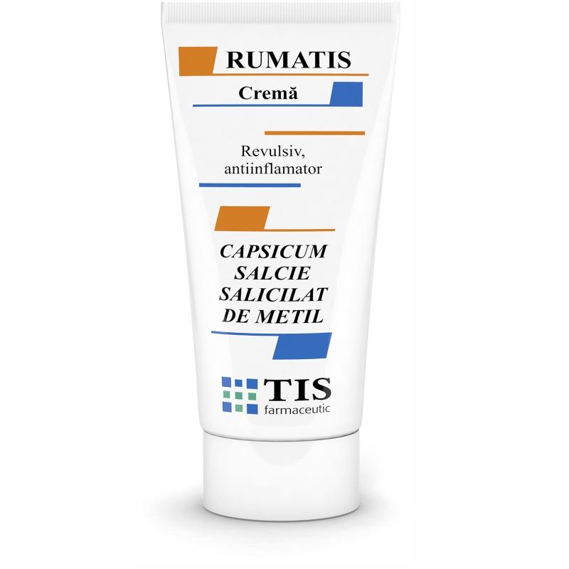 RumaTis cremă relaxanta, 50 ml, Tis Farmaceutic
