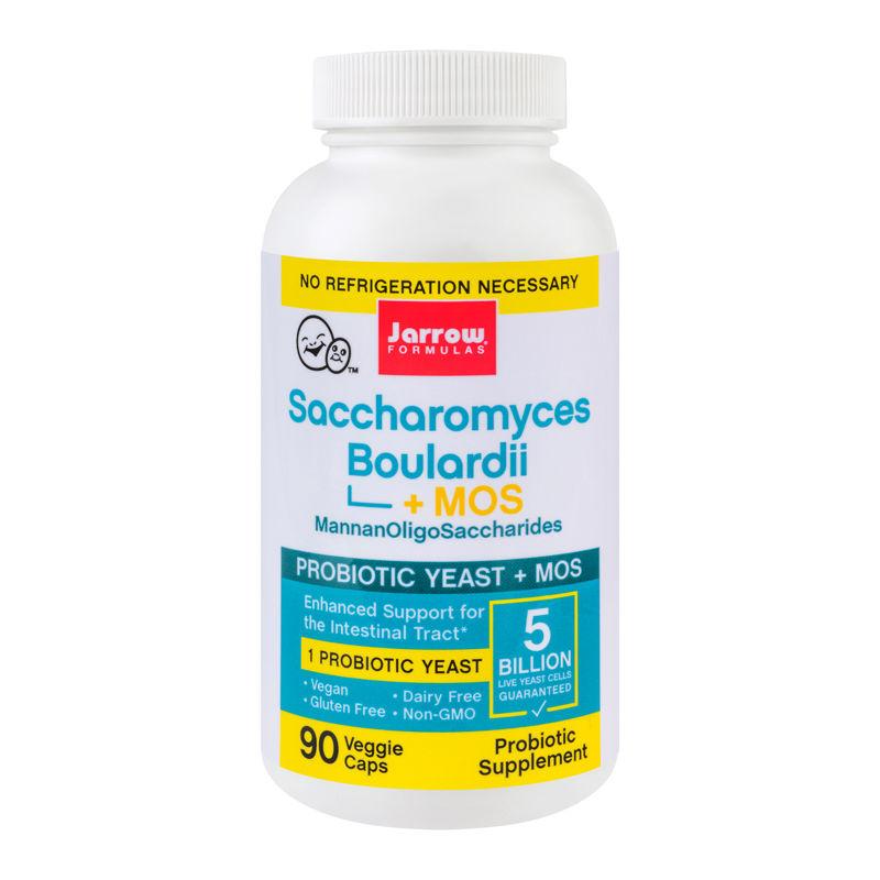 Saccharomyces Boulardii Mos Jarrow Formulas, 90 capsule, Secom