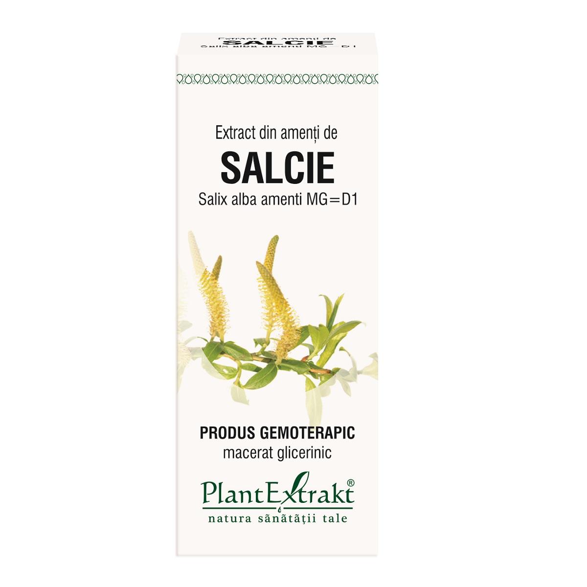 Extract din amenti de salcie salix, 50 ml, Plant Extrakt