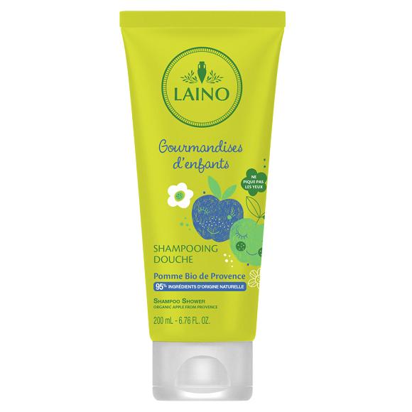 Sampon 3 in 1 pentru copii cu mar bio de Provence, 200 ml, Laino