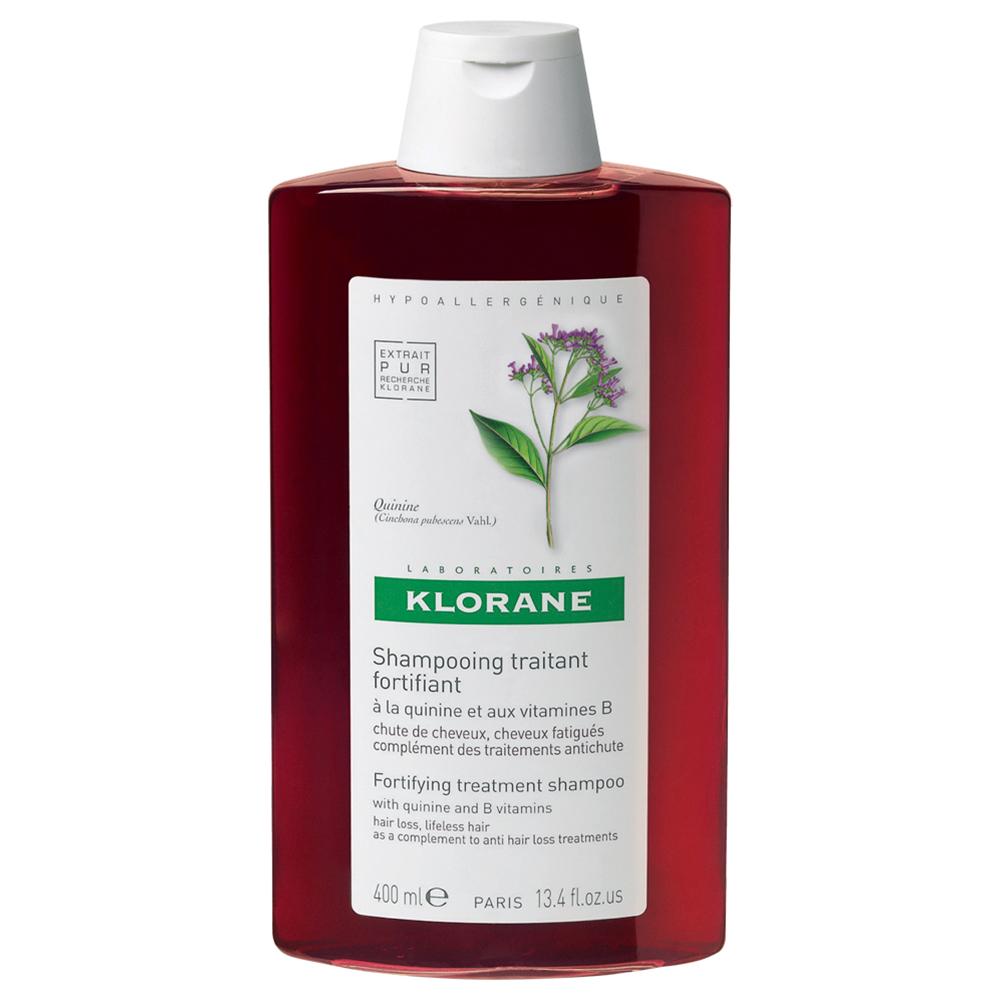 Șampon stimulant și fortifiant cu chinină și vitamine B, 400 ml, Klorane
