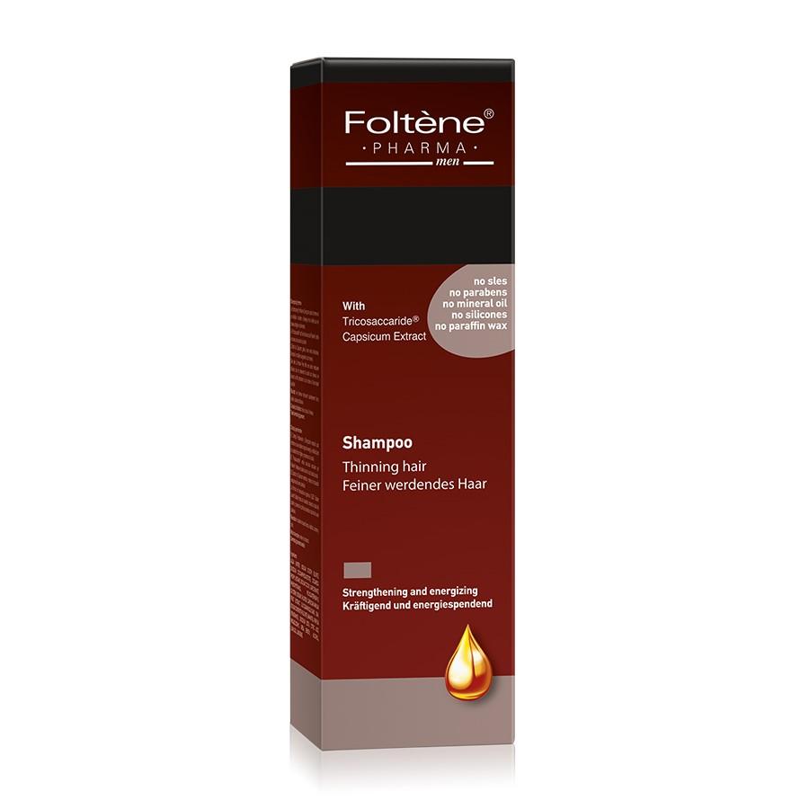 Sampon impotriva caderii parului pentru barbati, 200 ml, Foltene