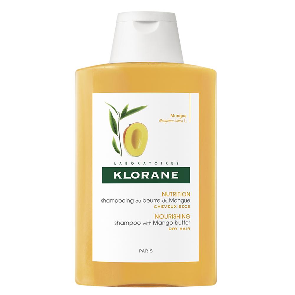 Șampon hrănitor cu unt de mango pentru păr uscat, 200 ml, Klorane