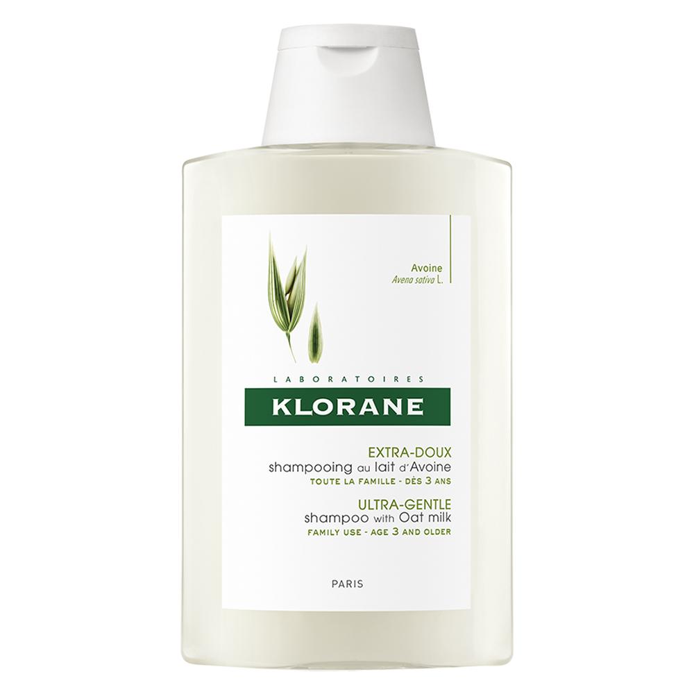 Șampon cu lapte de ovăz pentru utilizare frecventă, 200 ml, Klorane