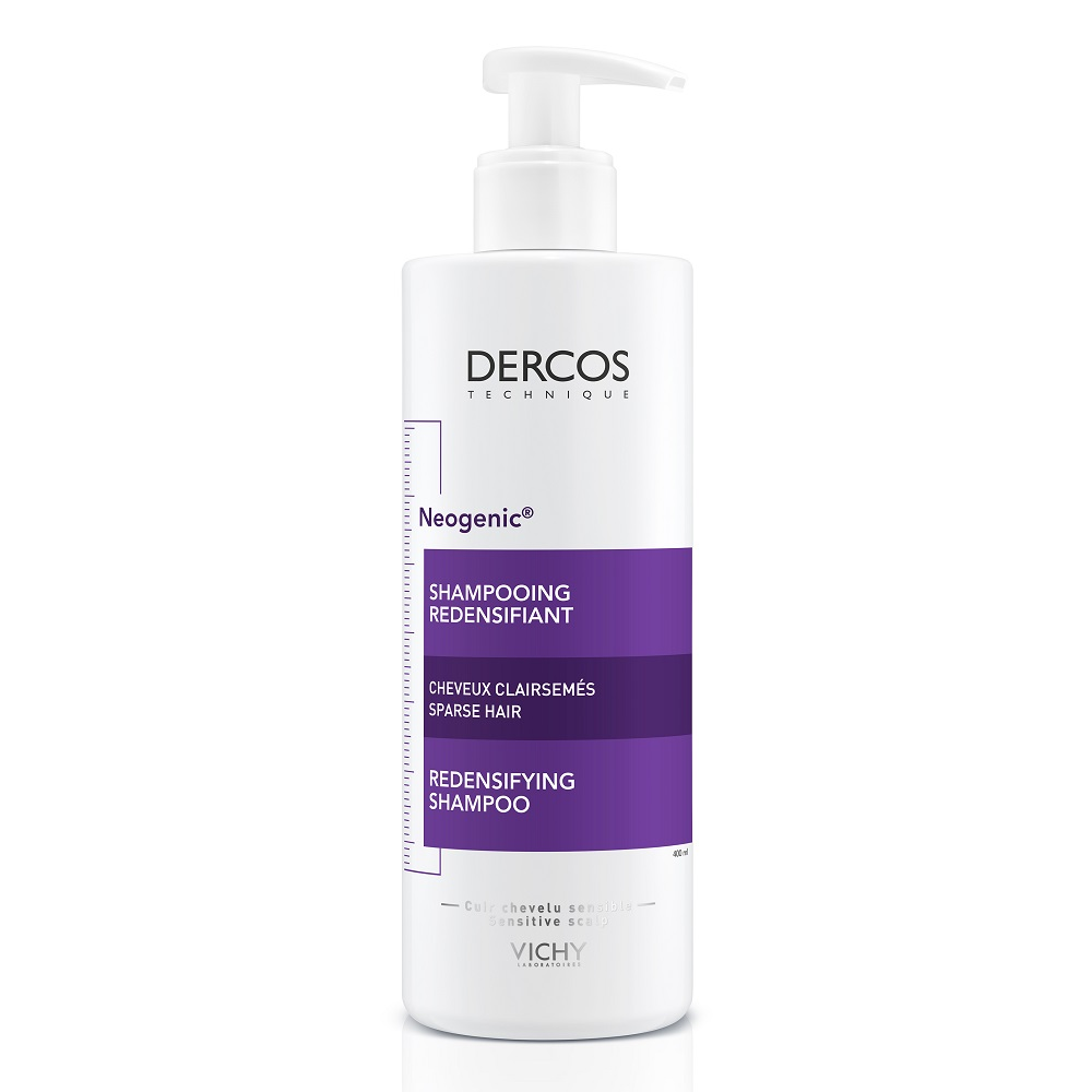 Şampon redensificator cu Stemoxidină Dercos Neogenic, 400 ml, Vichy
