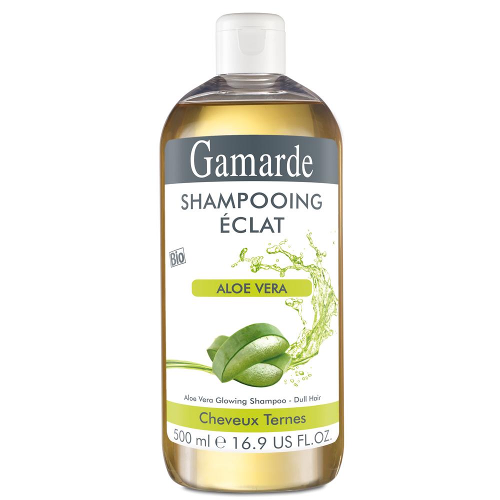 Șampon Bio natural pentru strălucire cu aloe vera, 500 ml, Gamarde