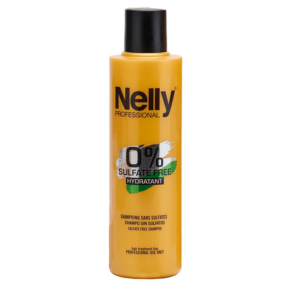 Samponul hidratant fara sulfati Sulfate Free, 300 ml, Nelly Professional