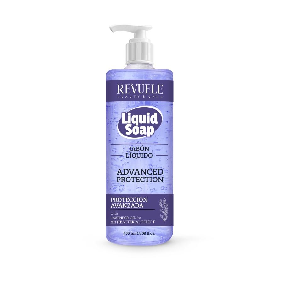 Sapun lichid Advance Protection cu Lavanda, 400 ml, Revuele