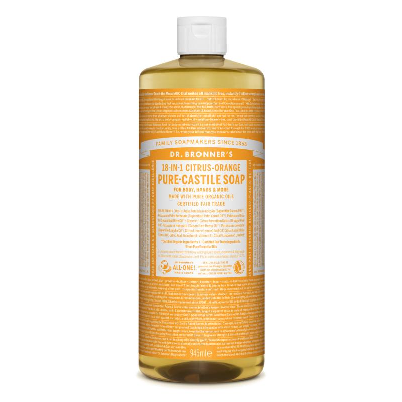 Sapun magic lichid 18in1 cu citrice, 945 ml, Dr. Bronner's