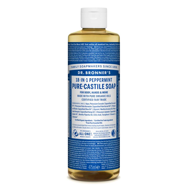 Sapun magic lichid 18in1 cu menta, 475 ml, Dr. Bronner's