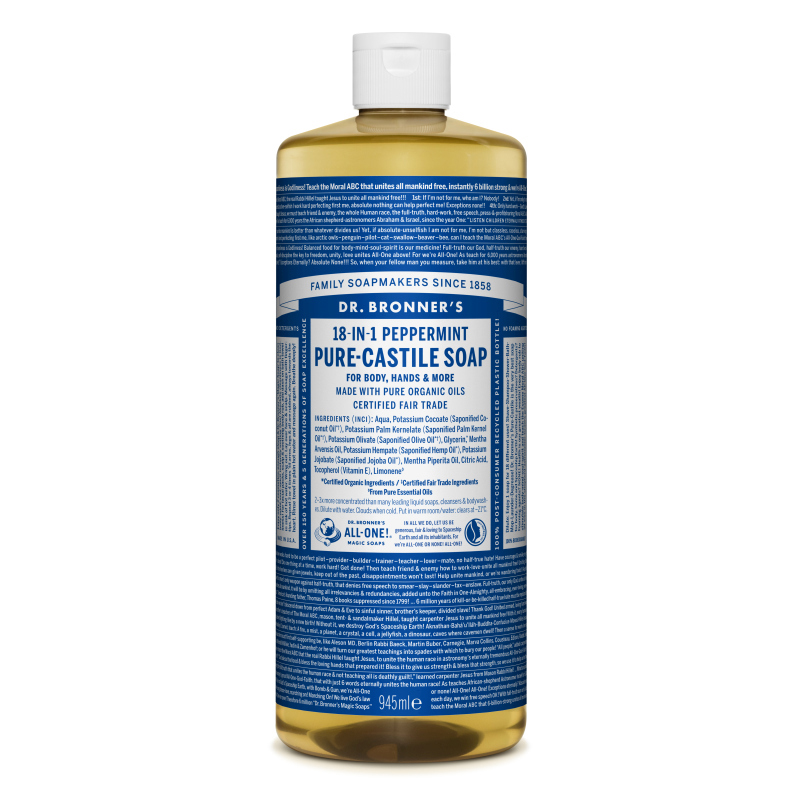 Sapun magic lichid 18in1 cu menta, 945 ml, Dr. Bronner's