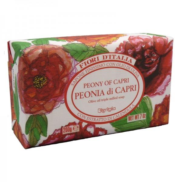 Săpun vegetal cu Bujor de Capri, 200 g, Iteritalia