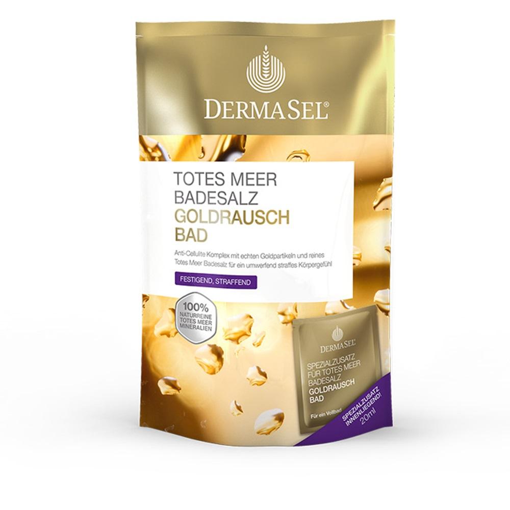 Sare de baie de la Marea Moarta Aur Exclusiv, 400 g, DermaSel