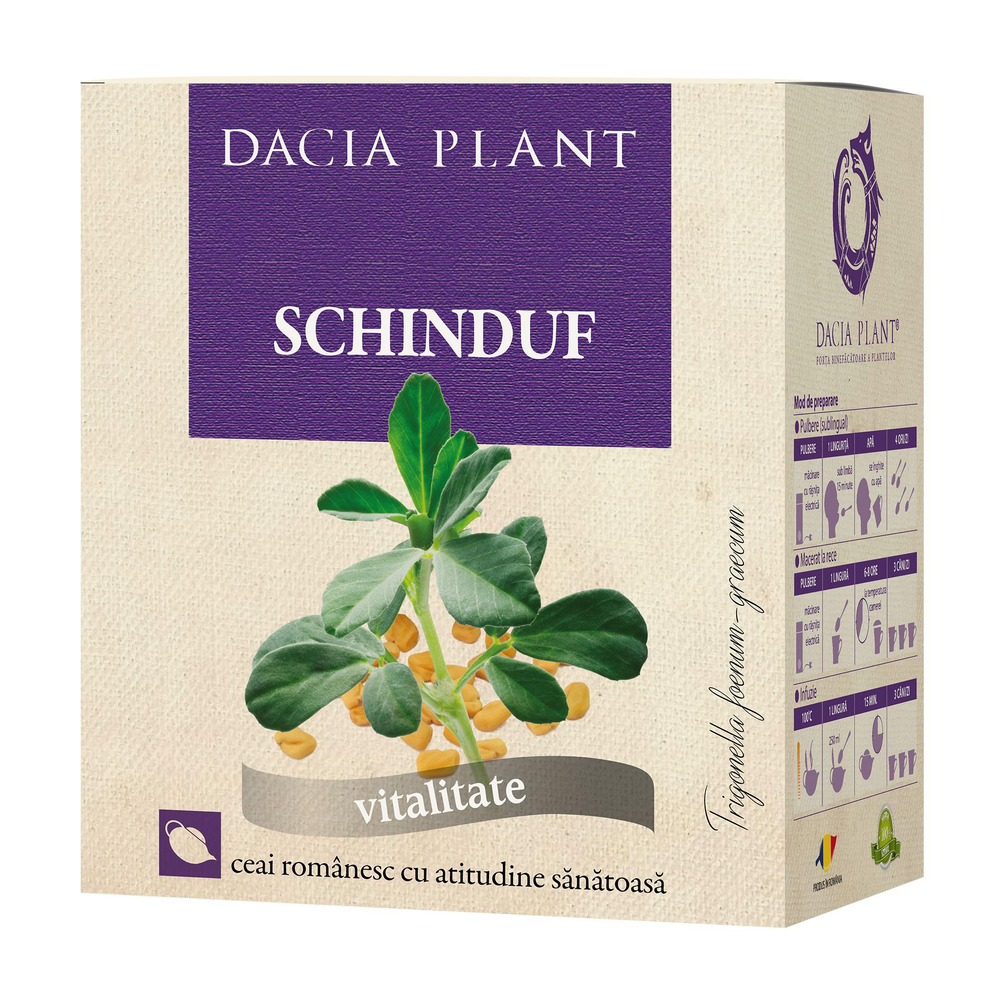 Ceai Schinduf, 100g, Dacia Plant