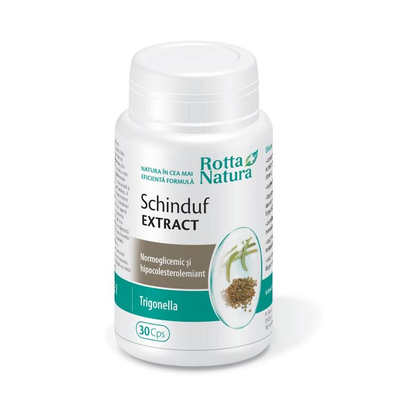 Schinduf extract, 30 capsule, Rotta Natura